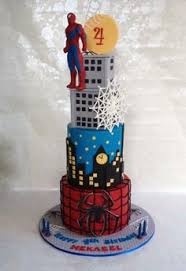 spiderman birthday cake cakes and cupcakes for kids birthday