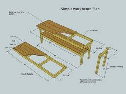Free Simple Wood Workbench Plans by 68 Best Workbench Images On Pinterest Woodwork Projects And