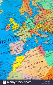map of all the countries in europe large big map and flag of all country maps flags travel at