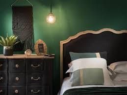 chambre noir et vert une collection déco en vert et noir joli place
