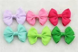 ribbon hair clip multicolour ribbon hair clip pack 30x click play enjoy