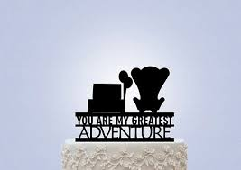 up cake topper matrimonio tema up cake topper poltrone carl ellie wedding theme
