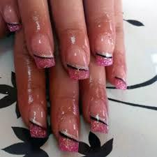 imagenes de uñas decoradas con konad uñas acrílicas pintadas con permanentes y decoradas con placas konad