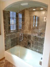 Bathtubs With Glass Shower Doors Glass Shop Framed Mirrors Tub Enclosures Beavercreek Oh A