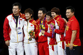 Us Table Tennis Team Team China Chinadaily Us Edition