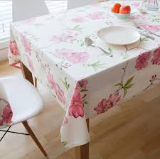 floral printed 100 cotton dining table cloth tablecloths for