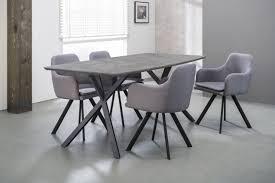Esszimmertisch Verona Esstisch Henk 160 X 90 Cm Tischplatte In Beton Dekor