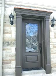 Replace Exterior Door Frame Awesome Install Exterior Door Without Frame Pictures Ideas House