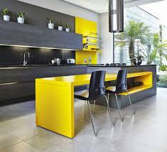 yellow kitchen islands yellow modern kitchen island derektime design useful modern