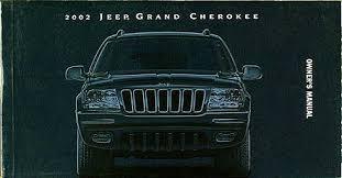 2002 jeep grand 2002 jeep grand owner s manual original