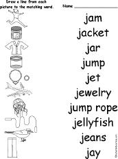 letter j alphabet activities at enchantedlearning com