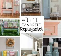 repurposed start at home decor