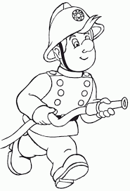fireman coloring fireman party firemen