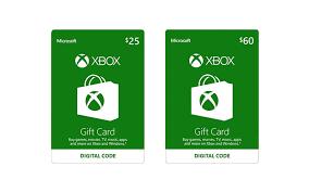 xbox digital gift card microsoft gift card xbox one