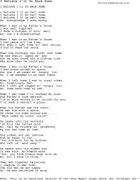 printable lyrics negro spiritual slave song lyrics for i believe i ll go back home