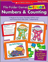 amazon file folder games color numbers u0026 counting 10