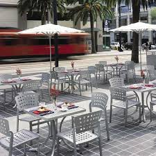 Commercial Patio Tables And Chairs Impressions Cafe Tropitone