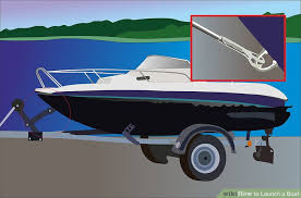 how to launch a boat with pictures wikihow