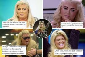 Gemma Collins Memes - these 17 genius gemma collins memes will get your week off with a giggle
