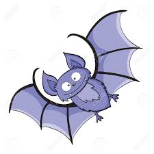 illustration of smiling cute cartoon bat royalty free cliparts