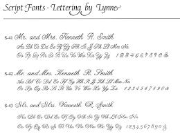lettering by lynne addressing envelopes fonts