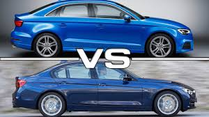audi a3 vs bmw 3 series 2017 audi a3 sedan vs bmw 3 series