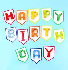 25 lego birthday banner ideas lego banner