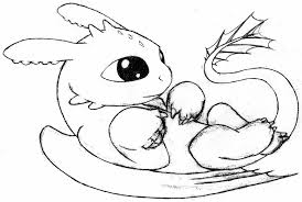 13 pics baby toothless dragon coloring pages train