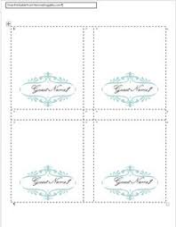 Blank Tent Card Template by Free Avery Template For Microsoft Word Small Tent Card 5302