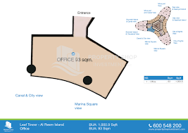 office 1000 9 sqft f leaf tower floor plan al reem island al office 1000 9 sqft f leaf tower floor plan