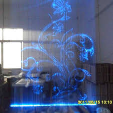 Led Light Curtains Led Light Curtain Wall With Fiber Optic Calligraphy And Painting 9