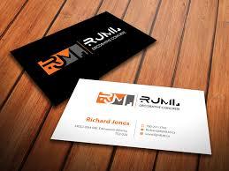 concrete business cards business card design for rjml decorative concrete by
