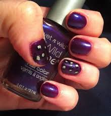 easy nail art designs 3 diy elegant silver violet purple purple