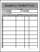 Inventory Sign Out Sheet Template Free Inventory From Formville