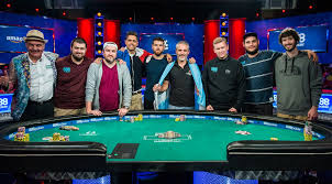 wsop final table the nine nine players set for wsop main event final table
