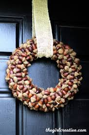best 25 acorn wreath ideas on pinterest acorn crafts pine cone