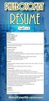 Phlebotomist Job Description Resume by Best 25 Phlebotomy Ideas On Pinterest Nursing Information