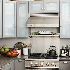 Frosted Glass Kitchen Cabinets Design Ideas - Kitchen cabinets with frosted glass doors