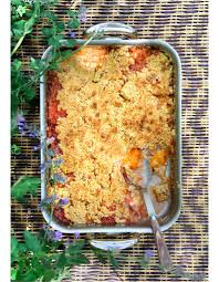 cuisiner pour 10 personnes crumble pêches abricots pour 10 personnes recettes à table