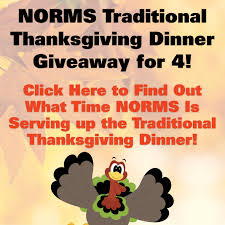 expired norms traditional thanksgiving dinner giveaway for 4