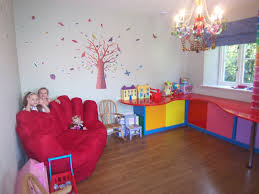 wall theme decorating room with colour girl kids bedroom interesting fairy