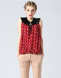 sleeveless blouses dot design sleeveless blouse blouses askwear