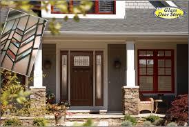 Exterior Door With Side Lights Craftsman Entry Door