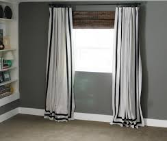 blinds color block curtains beautiful navy curtains a renovated