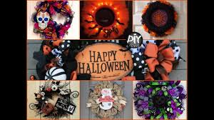 Halloween Mesh Wreaths by 50 Diy Halloween Wreaths Ideas Cute Outdoor Halloween