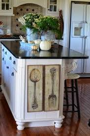 decorating a kitchen island fall home tour part 2 kitchens autumn and holidays