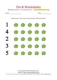 collections of printable pre k worksheets easy worksheet ideas