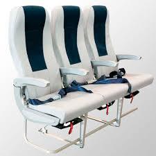 siege pour cabine de siège pour cabine pour classe économique en tissu en cuir