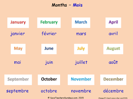 months in french ks2 worksheets activities and flashcards by