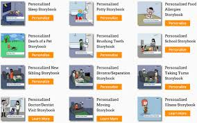 help your child through transitions with personalized stepping stories